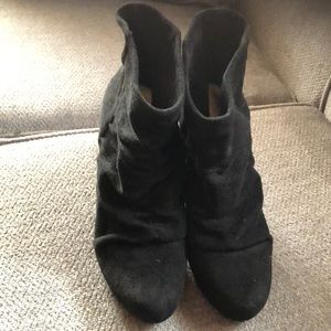 AwesomeBCBG  9.5 fabric boots !! Like new!